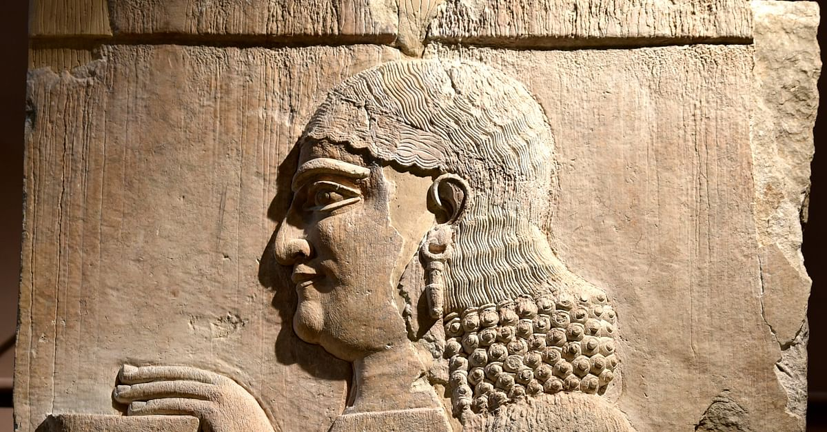 Assyrian Eunuch from Khorsabad at the Iraq Museum