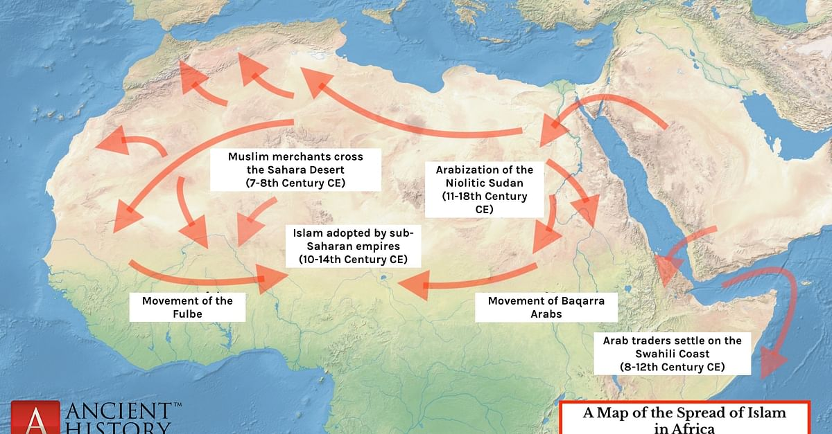 THE SPREAD OF ISLAM IN WEST AFRICA