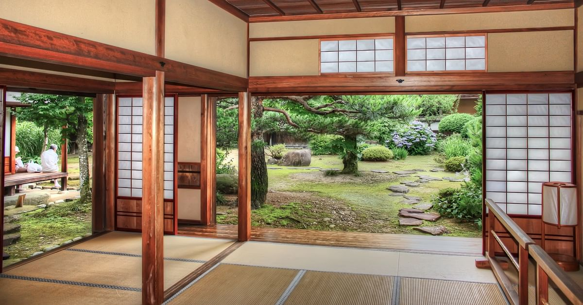 decorative bamboo fence stock photo image of ancient.htm a traditional japanese house ancient history encyclopedia  a traditional japanese house ancient