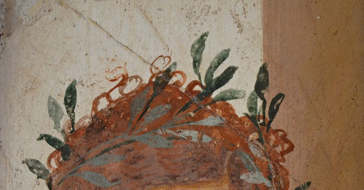 Woman with Garland of Olive Leaves, Herculaneum