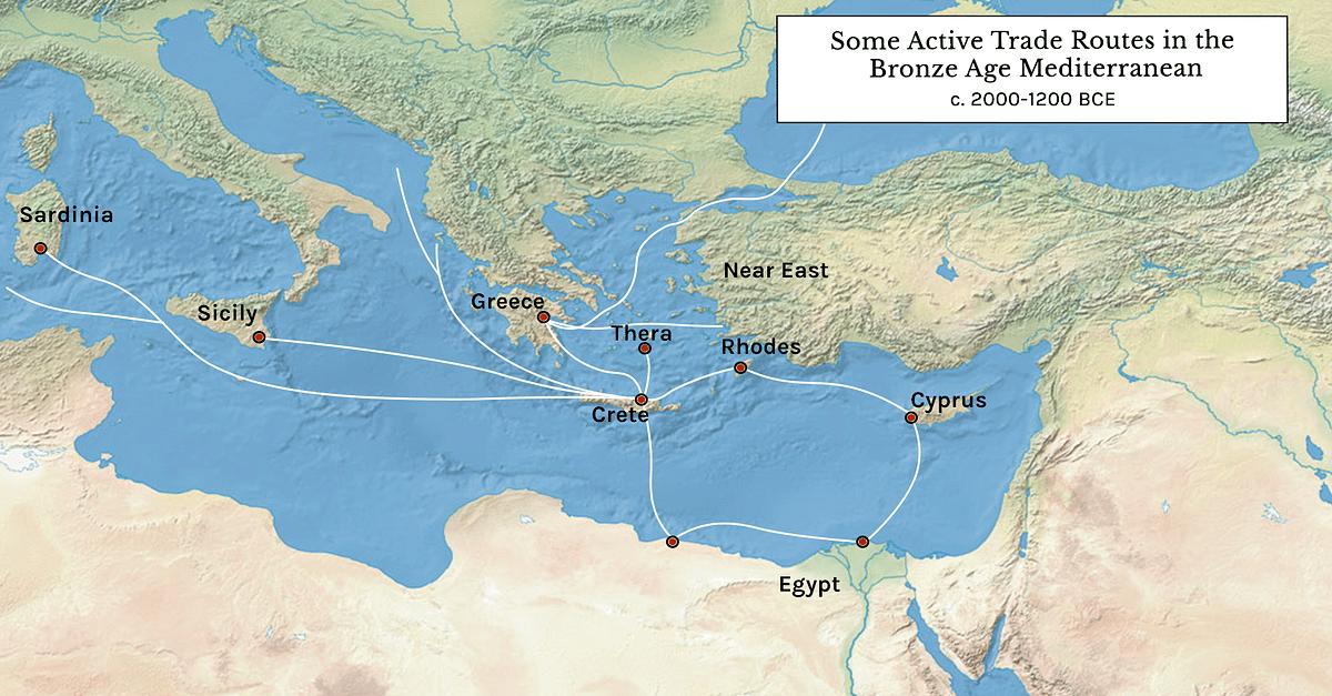 The Minoans Mycenaeans: Comparison of Two Bronze Age Civilisations