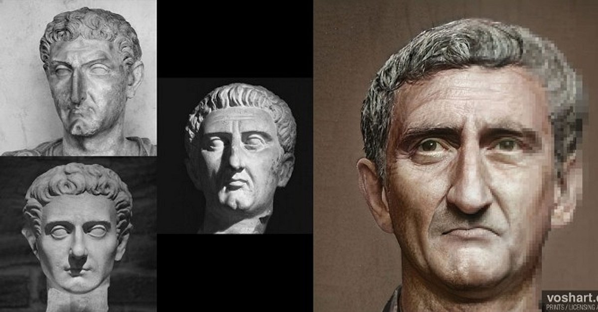 Faces of Roman Emperors: Nerva to the Severan Dynasty