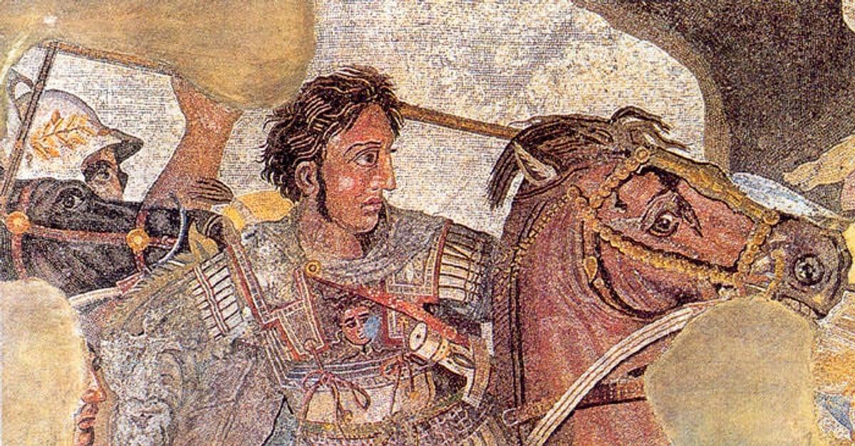 Alexander the Great Bucephalus Mosaic