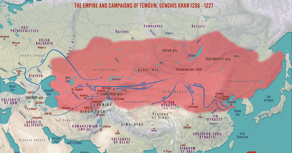 The Campaigns Empire of Genghis Khan