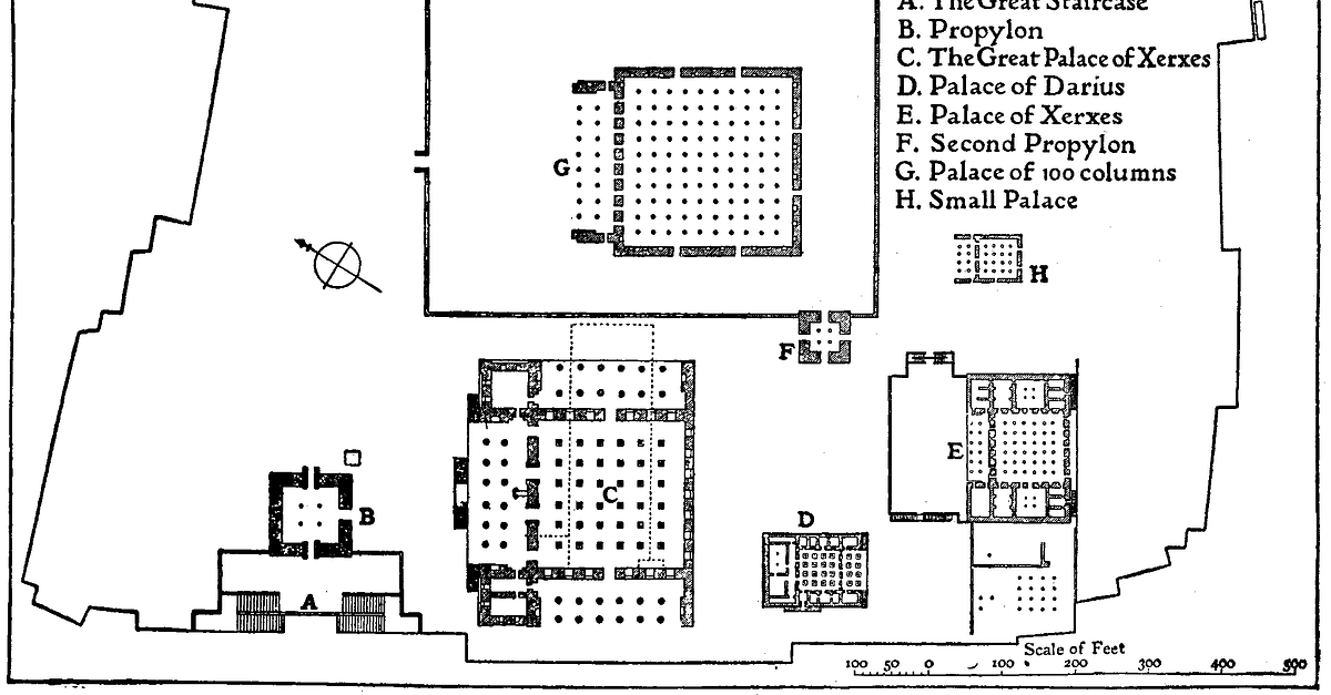 Map Of Persepolis Illustration Ancient History Encyclopedia