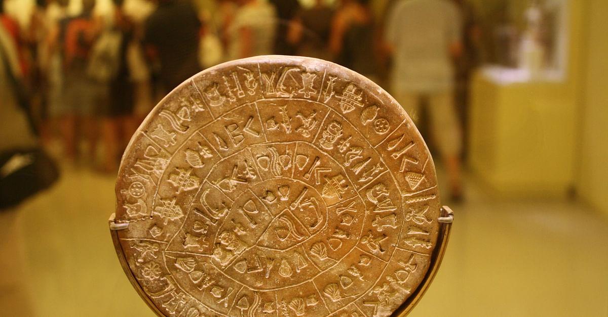 Phaistos Disk (Side B)