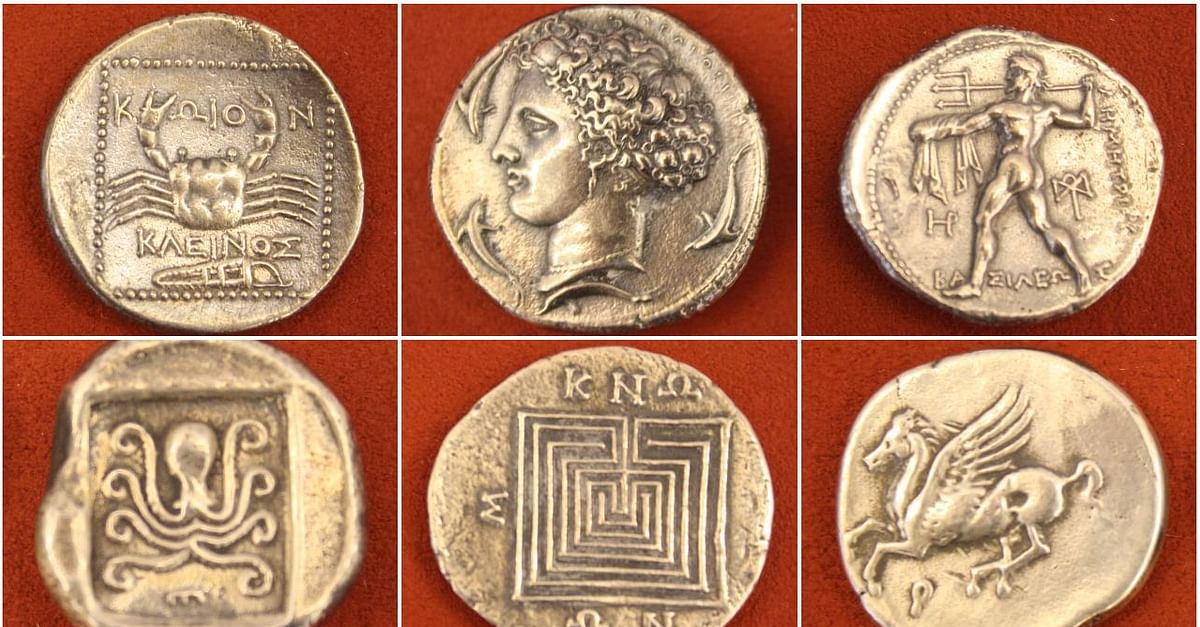 Ancient Greek Coinage History