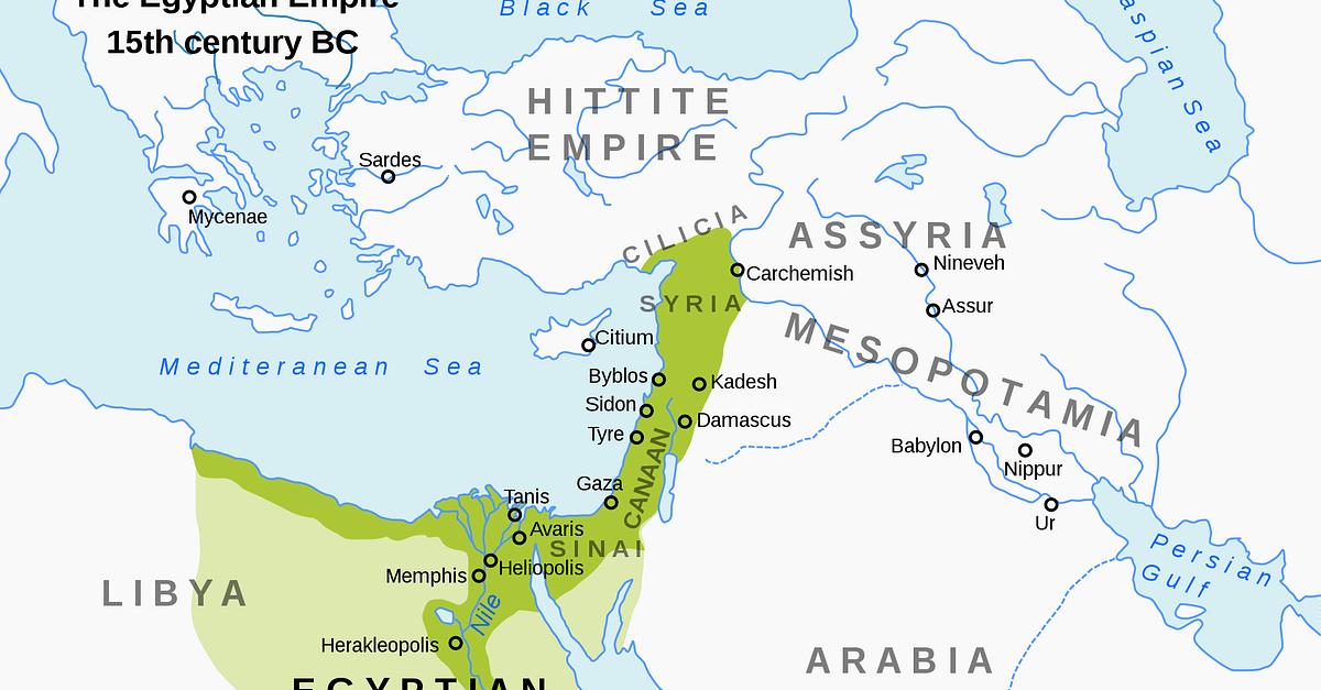 Egyptian Empire Ancient History Encyclopedia