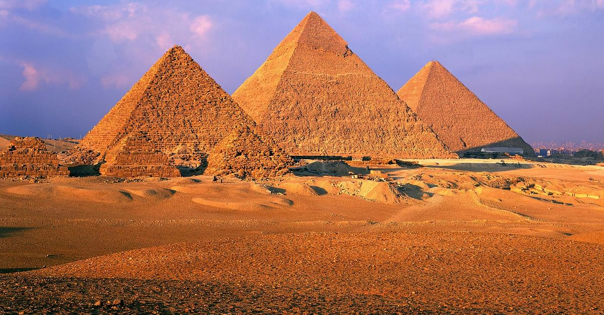The Pyramids, Giza, Egypt