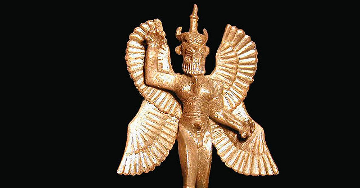 "13/""  Spirit Horse Eagle Spirit Statue"