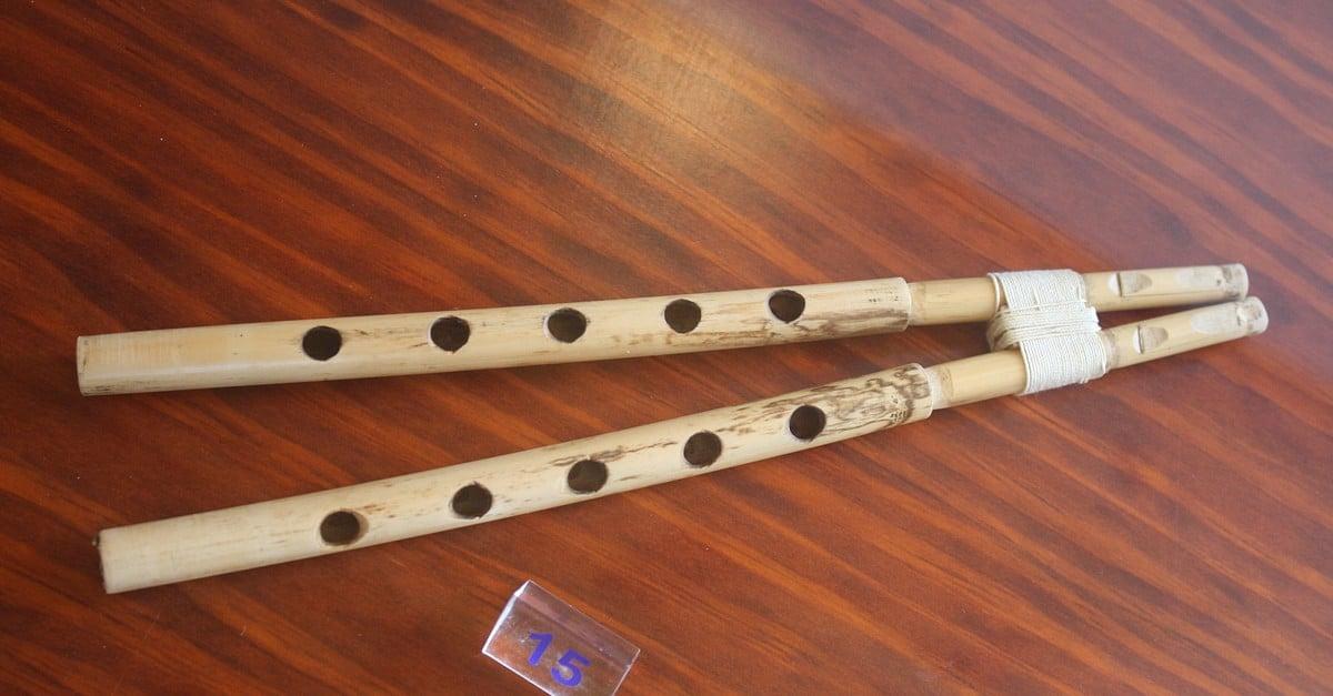 Aulos Greek Instrument