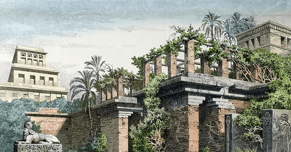 Hanging Gardens Of Babylon Ancient History Encyclopedia