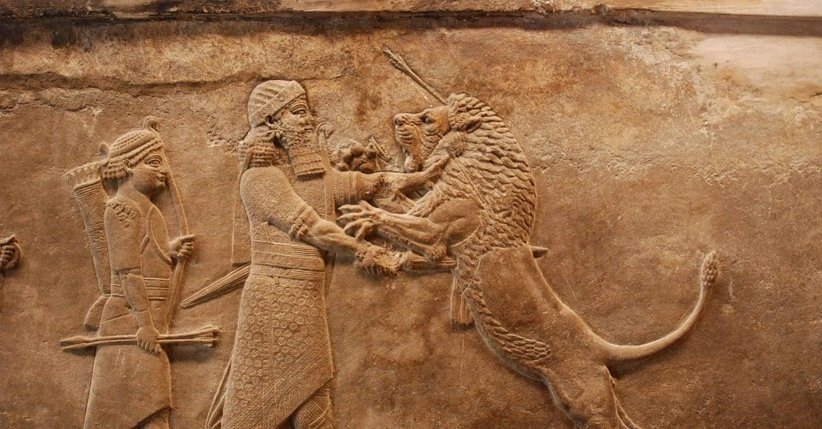 Assyrian Lion Hunt Relief