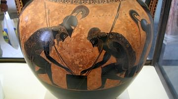 Achilles and Ajax By Exekias
