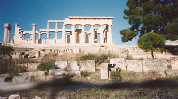 Temple of Aphaia at Aegina