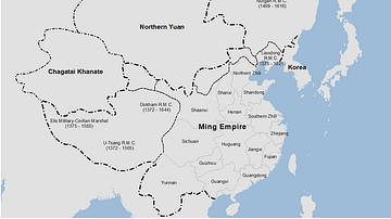 Ming Dynasty Empire, c. 1409 CE