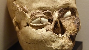 Plastered Skull from Jericho