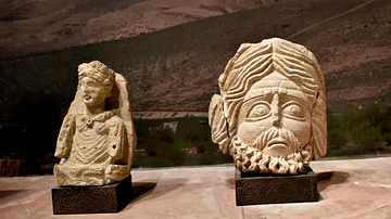 Atarghatis and Hadad from Khirbet et-Tannur