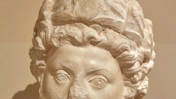 Head of Marcus Aurelius from Petra