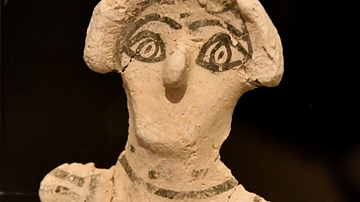 Plaster Figurine from Khirbet as-Samra