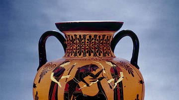 Attic Black-figure Amphora