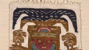 Lambayeque Textile Patch