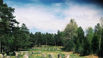 Stone Circles at The Hunnfelt