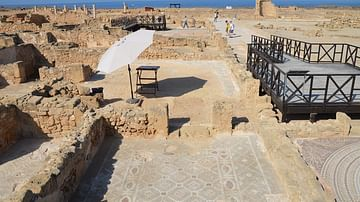 House of Theseus at Paphos, Cyprus