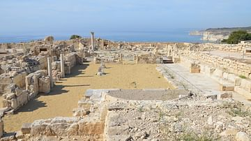 Early Christian Basilica in Kourion, Cyprus