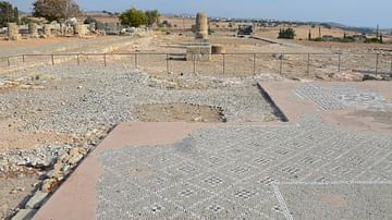 Palaepaphos, Sanctuary of Aphrodite in Cyprus