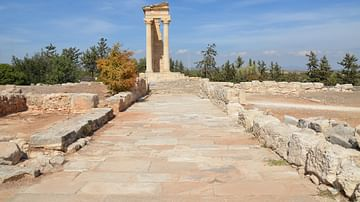 Temple of Apollo Hylates in Cyprus