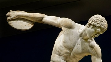The Diskobolos (Discus Thrower)