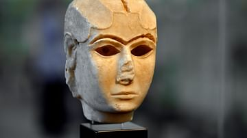 The Mask of Warka at the Iraq Museum