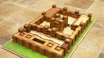 Model of an Axum Palace