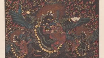 Raven-Headed Mahakala