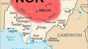 Map of Nok Culture Territory