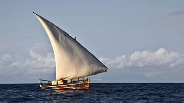 Traditional Dhow Sailing Vessel
