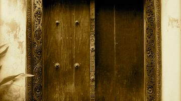 Swahili Doorway, Mombassa