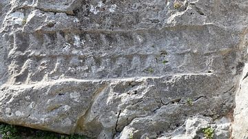 Rock Relief with Procession of Hittite Deities at Yazilikaya