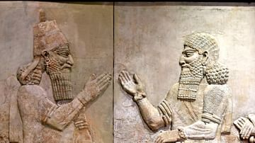 Sargon II and Turtanu