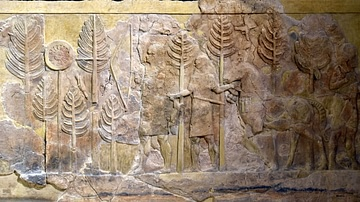 Assyrian Hunters from Khorsabad
