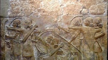 Assyrian Archers from Khorsabad