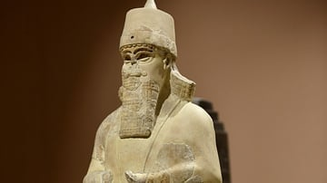 Statue of Shalmaneser III from Nimrud