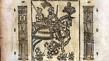 Illustration of The Knight's Tale by Geoffrey Chaucer