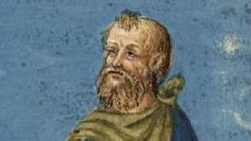 Late Medieval Portrait of Epictetus