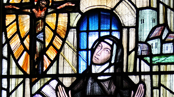 St. Julian of Norwich in Prayer