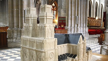 Model of Orleans Cathedral