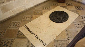 Tomb of Leonardo da Vinci