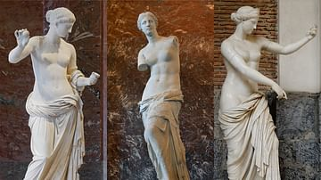 Three Venus Statues