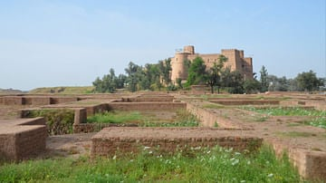 Palace of Darius in Susa